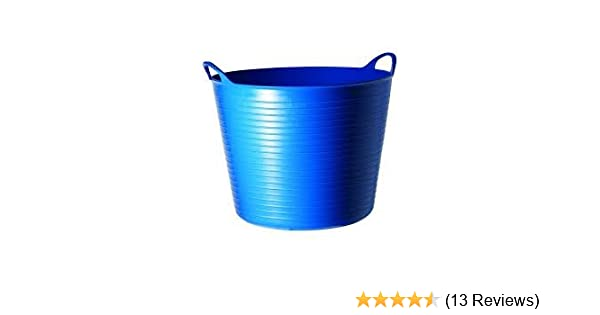 Tubtrug Flexible Medium choose from colours blue, green, orange, pink, pistachio, purple, red, sky blue or yellow Can also be used for grooming kits and mucking out - ideal for feed and water