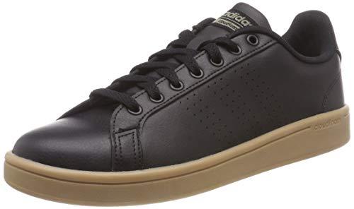 adidas Herren Cloudfoam Advantage Clean Gymnastikschuhe Schwarz Core Black/Trace Cargo, 43 1/3 EU Tennis-herren Sneakers