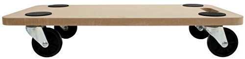 SafetyLiftinGear 200kg Wooden Furniture Mover Hand Dolly Trolley Cart Truck Platform 580x290mm