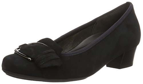 Gabor Shoes Comfort, Scarpe con Tacco Donna Blu (nightblue 46)