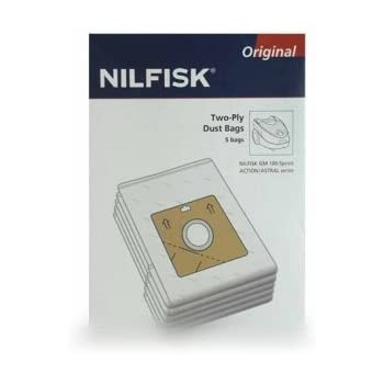 beau look haut fonctionnaire belle et charmante Nilfisk 30050002 5 Sacs Aspirateur Synthétique + 1 Pré ...
