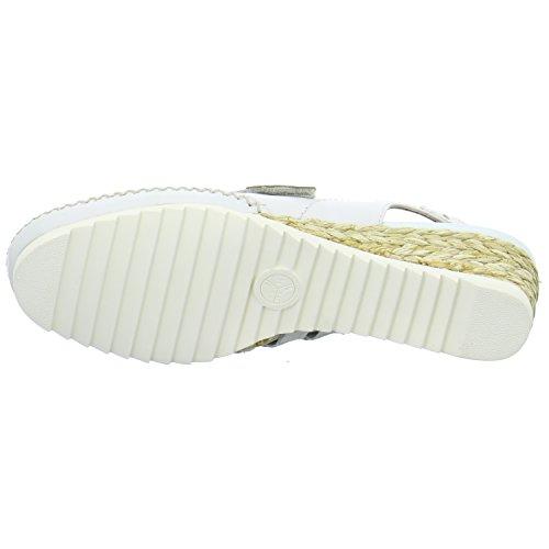 Jana 8-8-29202-28-100, Scarpe col tacco donna Bianco