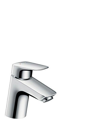 Hansgrohe - Waschtischarmatur, Push-Open Ablaufgarnitur, Chrom, Serie Logis 70