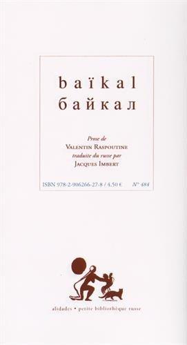 Baïkal par Valentin Raspoutine