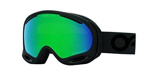 Oakley Unisex-Erwachsene A-Frame 2.0 704466 0 Sportbrille, Schwarz (Factory Pilot Blackout/Prizmjadeiridium), 99