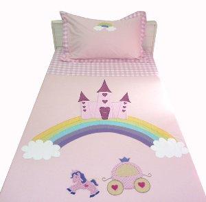 Castle on the Rainbow Single Bedsheet