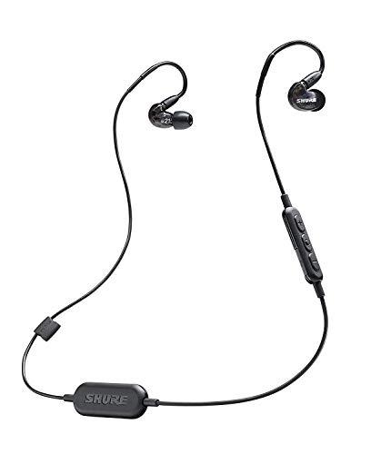 Shure SE215-K-BT1-EFS Bluetooth In-Ear Kopfhörer mit passiver Geräuschunterdrückung für iOS & Android - Premium Ohrhörer mit warmem & detailreichem Klang - Schwarz thumbnail