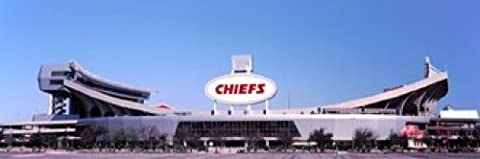 Panoramic Images – Football stadium Arrowhead Stadium Kansas City Missouri USA Photo Print (45,72 x 15,24 cm)