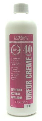 L'Oreal Oreor Creme 40 Volume Developer 237 ml (Case of 6)