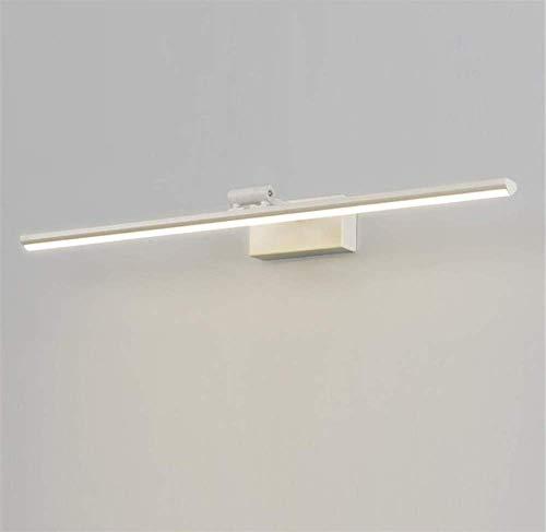 Espejo luz baño ángulo ajustable hierro forjado