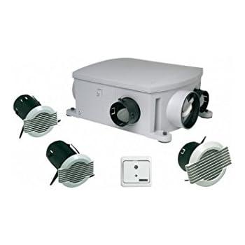 Aldes Vmc Simple Flux Autoréglable Compact Extra Plat Ref 11026101