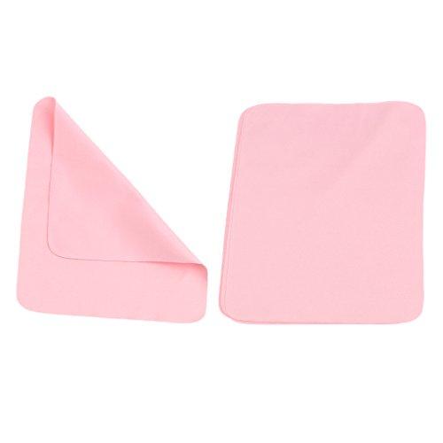 Sharplace 10pcs Mikrofaser Reinigungstücher Tücher für die Reinigung von Brille, Kameras, iPad, iPhone, Tablets, Handys, LCD-Bildschirmen usw. - Rosa