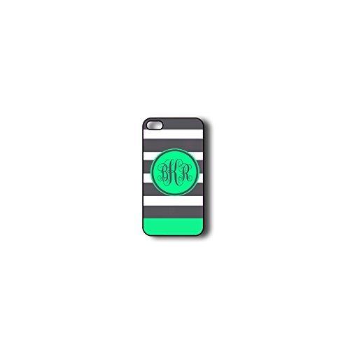 krezy monogramme iPhone 6cas, iPhone 6Coque Monogramme, MONOGRAMME Motif rayures colorées iPhone 6cas, iPhone 6Coque
