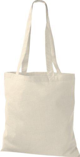 ShirtInStyle Premium Stoffbeutel Baumwolltasche Beutel Shopper Umhängetasche viele Farbe natural