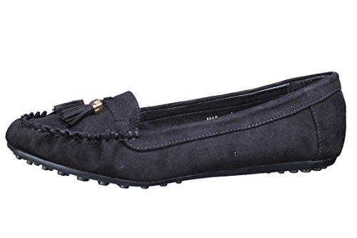Lily shoes Mocassins Femme M10 Noir Noir
