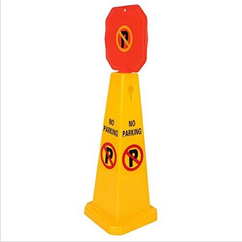 Arbeitsschutzausrüstung Plastikstraßen-Kegel-vertikales Warnschild-Straßensperren-Kegel kein Parken-Quadrat-Schild kann besonders angefertigt werden Warnkegel ( Color : 1 packs , Größe : 70cm )