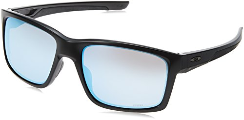 Oakley Herren Mainlink Sonnenbrille, Schwarz (Negro), 57