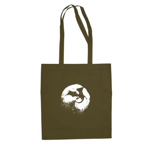 Beutel Oliv Stofftasche Night Dragons of twqXHv