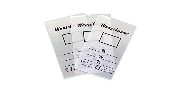 Wunschname  1 0 0  Wäscheetiketten Namensetiketten