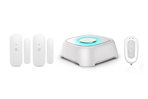 Smanos Sistema de alarmas con WiFi L020, 1.5 V, Color Blanco