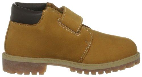 Timberland WP Chukka Hook & Loop, Chaussures basses garçon Jaune - Wheat Nubuck