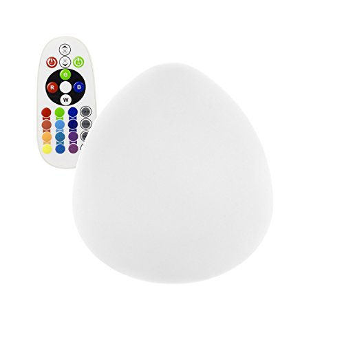 Egg LED RGBW Recargable efectoLED