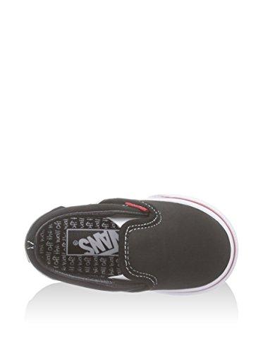 Vans T Classic Slip-on, Baskets mode mixte bébé Color me chalkboard/True white