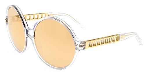 Linda Farrow Sonnenbrillen 451 CLEAR YELLOW GOLD CLEAR YELLOW GOLD/GOLD MIRROR Damenbrillen