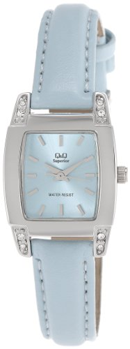 Q & Q Analog Blue Dial Women's Watch - S171-332Y image