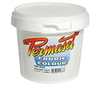 Permaset: Aqua serigrafía tela: 1000ml: reductor de impresión pasta ()