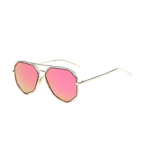Black Temptation Anti-UVA Anti-UVB Neue Art- und Weisekatze-Auge gespiegelte Metallrahmen-Sonnenbrille