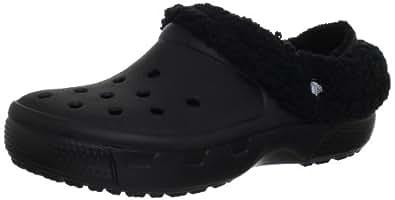 Crocs Mammoth EVO, Unisex-Adults' Clogs, Black (Black/Black), 3 UK Men/4 UK Women