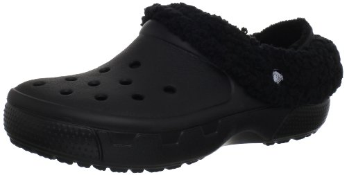 Crocs Mammoth Core Full Collar 12878, Zuecos unisex, Negro Black/Black, 43-44