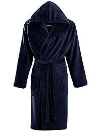 STONEBRIDGE Mens Luxury Super Soft Men Dressing Gown Hooded Bathrobe e9318d4dd