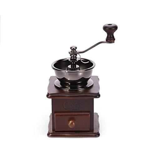 Manuelle Kaffeemühle, Hölzerne Handmühle Kaffeemühle, Handbetätigte Tragbare Espressomaschine