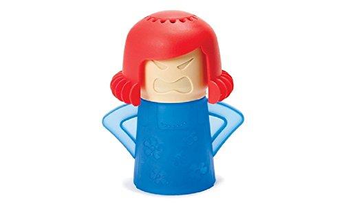 Top Shop Puppe Reinigungstuch Mikrowelle ohne Reinigungsmittel aus Kunststoff verschiedene Farben blau