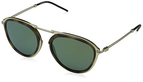 Emporio Armani Herren 0ea2056 30026r 54 Sonnenbrille, Braun (Mt Pale Gold/Green Havana), 53