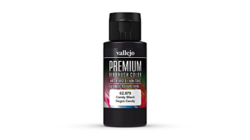 Vallejo (Premium Color 60 ml Paint Candy Black