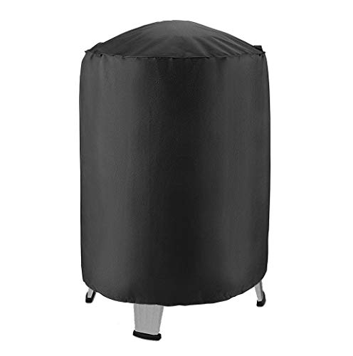 CoCover Heavy Duty Water Proof Dome BBQ Grill Barrel Cover, Water Smoker Cover for Weber Smokey Mountain, Large Green Egg, Kamado Joe Kettle Grill and More, 30