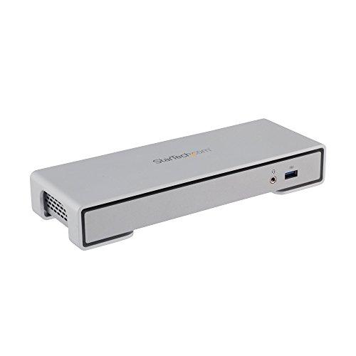StarTech.com Thunderbolt 2 4K Dockingstation für Laptops - Inklusive TB Kabel - MacBook Tunderbolt 2 Dock mit 4K Ultra HD