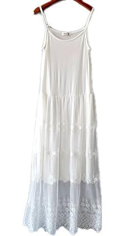hqclothingbox Dress Women Lace Layer Crochet Clothing Tunic Hippie Honey Dresses