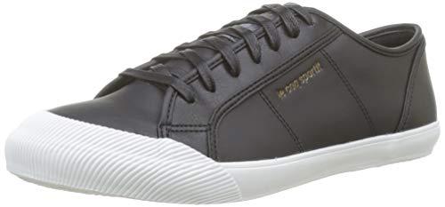 Le Coq Sportif Herren Deauville Winter Craft Black/Dress Blue Sneaker, Schwarz Noir, 41 EU (Coq Le Schuhe)