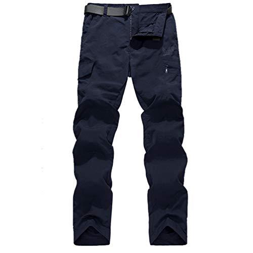 Herren-Sporthose Komfortable atmungsaktive leichte Wasserdichte trockene, schnelle und Bequeme Hose mit vielseitigen praktischen großen Taschen -