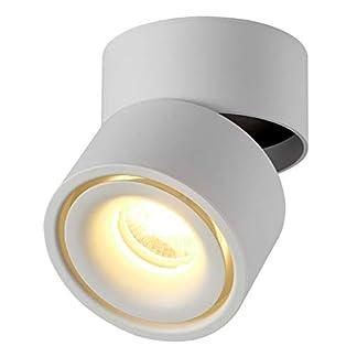 Dr.lazy 10W LED Spot light Faretti da soffitto,Faretto Lampada,plafoniera faretto,Lampade da soffitto,Faretto Orientabili,Faretti da muro,10x10x10CM