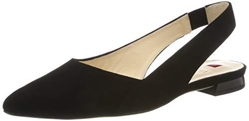 HÖGL Damen Kindly Slingback Ballerinas, Schwarz (Schwar, 39 EU (Damen Back, Schwarz Sling Schuhe,)