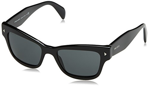 Prada Unisex PR29RS Sonnenbrille, Schwarz (Black 1AB1A1), One size (Herstellergröße: 51)