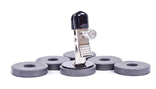 2er Set Nippelklammern mit Magnet-Gewichten 0075 - 3