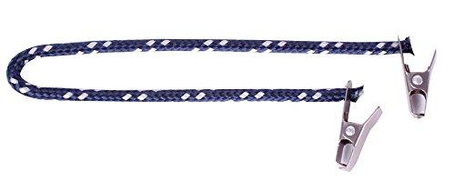 Cap Catch Clip Marine / Silber Sicherung Hutband für Hut und Mütze