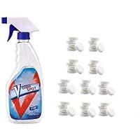 Li_unmio Juego de Limpiador en espray Efervescente Multifuncional - Incluye 1 Botella de Spray - Limpiador