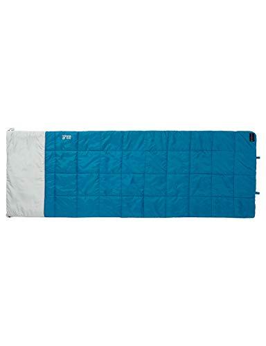 Jack Wolfskin Schlafsack 4-In-1 Blanket +5 dark turquoise, 36 x 21 x 21 cm, Liter